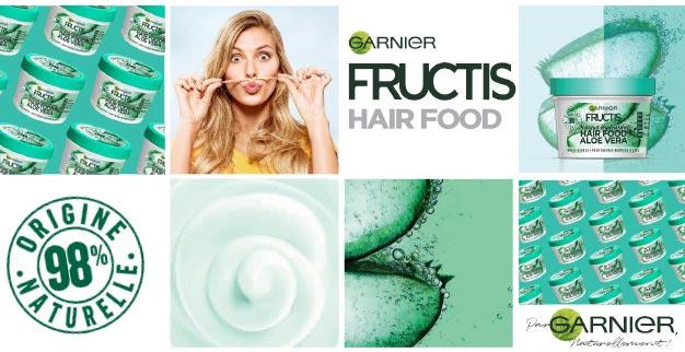 Soins Hair Food Garnier Fructis à tester gratuitement