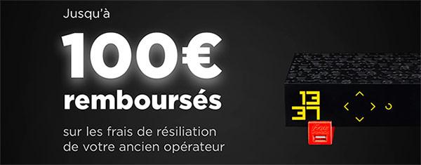 Offre de remboursement Freebox Révolution