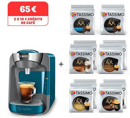 Une machine Suny Tassimo achetée = dosettes gratuites