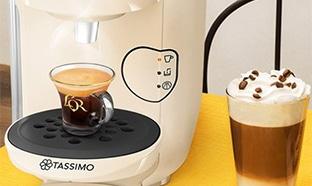 vente privée machines et capsules Tassimo