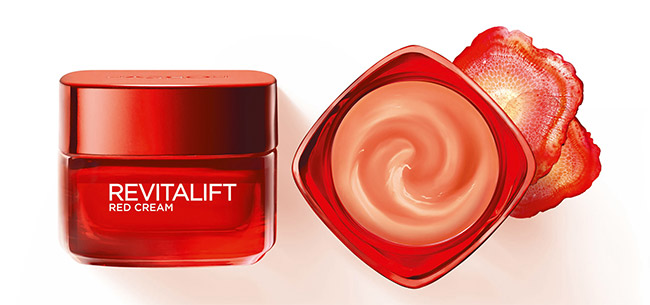 testez le Soin Rouge Défatiguant Revitalift de L'Oréal Paris