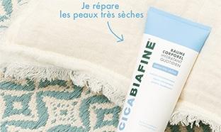 test gratuit du baume corporel hydratant quotidien CicaBiafine