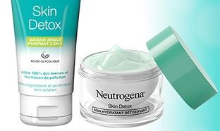 test gratuit de la routine Skin Detox de Neutrogena