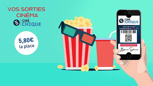 Vente E-billet CinéChèque : Place en promo