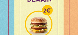 Bon plan McDo : Big Mac à 2€
