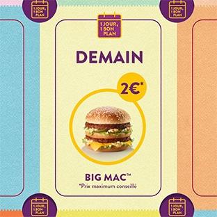 Bon Plan Mcdo Big Mac A 2 Le Mardi 23 Avril 2019 Uniquement