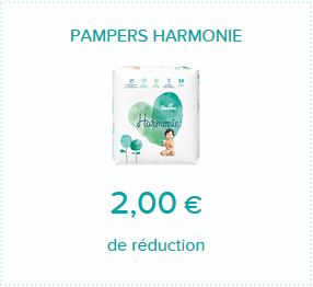 Bon de réduction Pampers Harmonie