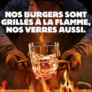 verre Burger King grillé offert
