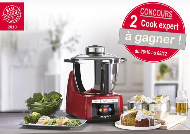 gagnez votre robot multifonction Cook Expert Magimix