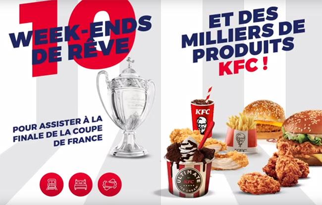 week-ends et produits KCF à gagner
