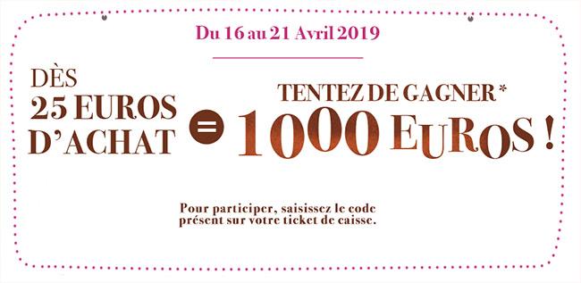 tentez de gagner 1000€ avec votre code Netto