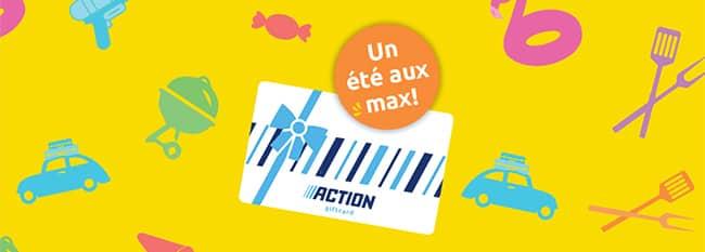 Cadeaux Action avec le jeu Grattez et Gagnez sur Action.com/Grattez