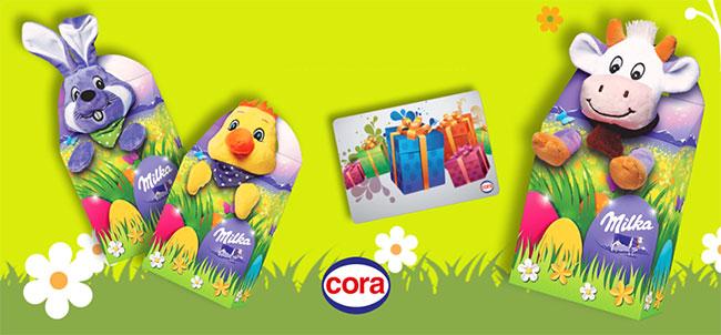 Les cadeaux de Pâques à gagner avec Cora