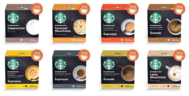 capsules Dolce Gusto Starbucks gratuites