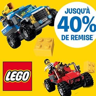 Vinettes Carrefour : Jouets LEGO moins chers
