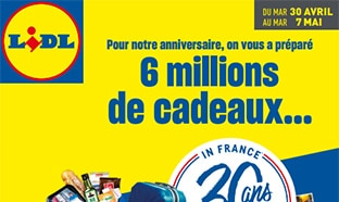 Catalogue anniversaire Lidl