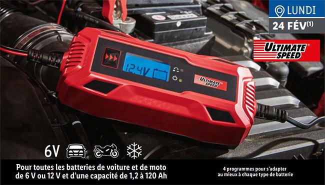 chargeur de batterie Ultimate Speed à petit prix chez Lidl