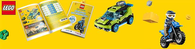 Collecteur de vignette LEGO : jusqu'à -40% chez Carrefour