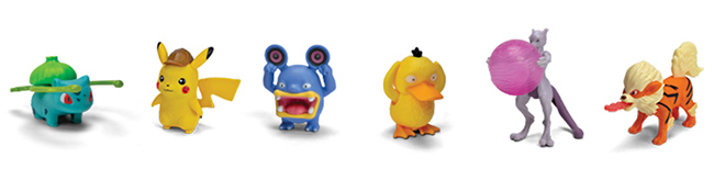 Figurines à collectionner Pokémon Détective Pikachu