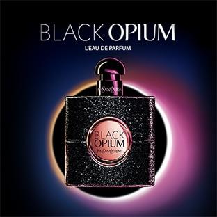 Échantillon gratuit de l'eau de parfum Black Opium