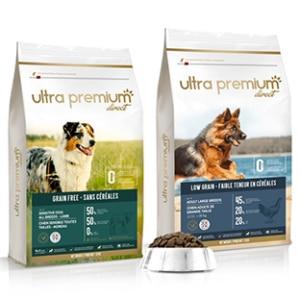 Échantillons de croquettes pour chiens Ultra Premium Direct