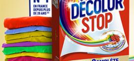 Échantillons gratuits de lingettes Décolor Stop
