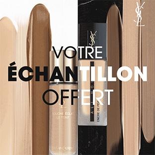 Échantillons de fond de teint Glow ou Mat d'Yves Saint Laurent