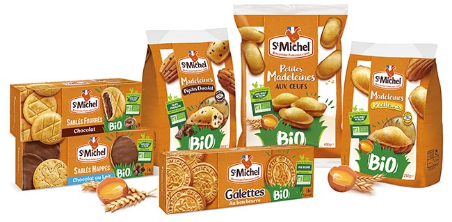 testez gratuitement les gâteaux St Michel Bio