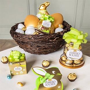 Jeu La chasse aux plaisirs de Pâques Ferrero Rocher