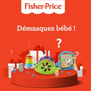 jeu Démasquez bébé Fisher-Price