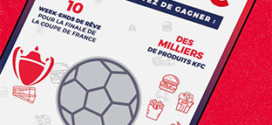 Jeu KFC FC : cartes à gratter