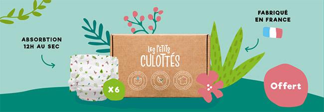 pack de couches Les Petits Culottés gratuit