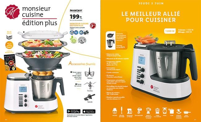 Robot Monsieur Cuisine édition plus SilverCrest by Lidl