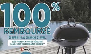Offre Géant Casino : barbecue 100% remboursé
