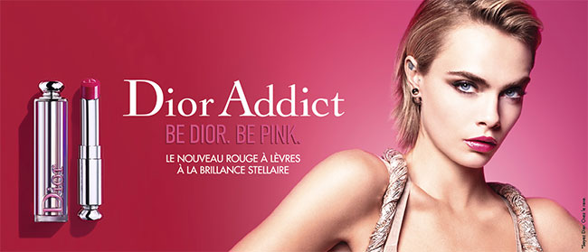palettes offertes de doses d'essai de Dior Addict Stellar Shine