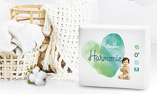 Promo Pampers : Couches Harmonie pas chères