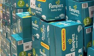 Pampers : 6 méga packs de couches pour 19,78€ au lieu de 132€