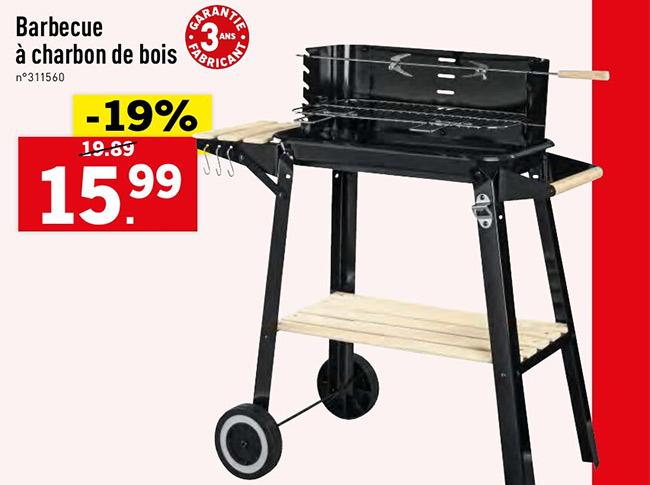 Soldes : Barbecue pas cher chez LidL