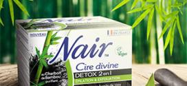 test gratuit de la cire Nair Divine Détox 2en1