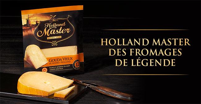 testez gratuitement le fromage Gouda Vieux Holland Master avec The Insiders