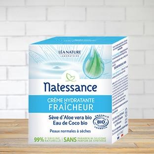 Test gratuit Natessance : Crème Hydratante Fraîcheur
