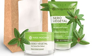 Test Yves Rocher : routine Sebo Vegetal gratuite