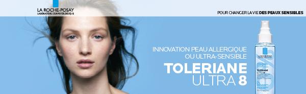 testez gratuitement Toleriane Ultra 8 La Roche-Posay