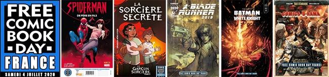 Des BD (Comics) gratuits aux Free Comic Book Day 2020