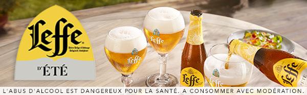 Testez gratuitement le bière d'été Leffe