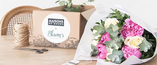 Tentez de gagner votre bouquet Bloom's avec Maisons du Monde