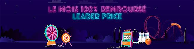 Tentez de gagner un bon d'achat Leader Price de 50€
