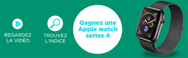 Tentez de gagner une montre Apple Watch avec MMA