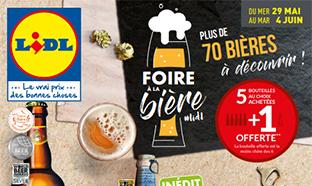 Catalogue Foire à la Bière Lidl