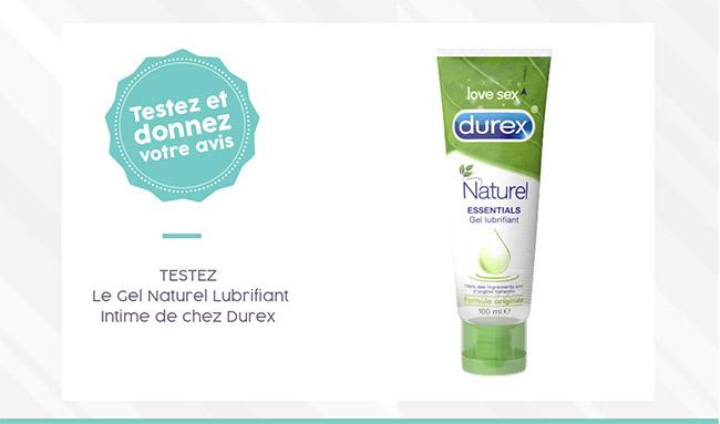 Testez gratuitement Naturel Essentials de Durex